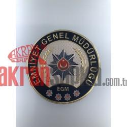 EMNİYET GENEL MÜDÜRLÜĞÜ POLİS ARMASI 3D