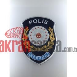 KORUMA POLİS ARMASI 3D