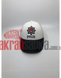 TRAFİK POLİSİ MEMUR KEPİ FOSFORLU